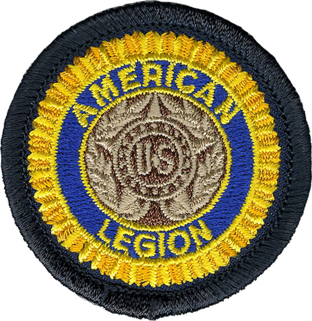 Embroidered American Legion Emblem Patch Americanlegionflags