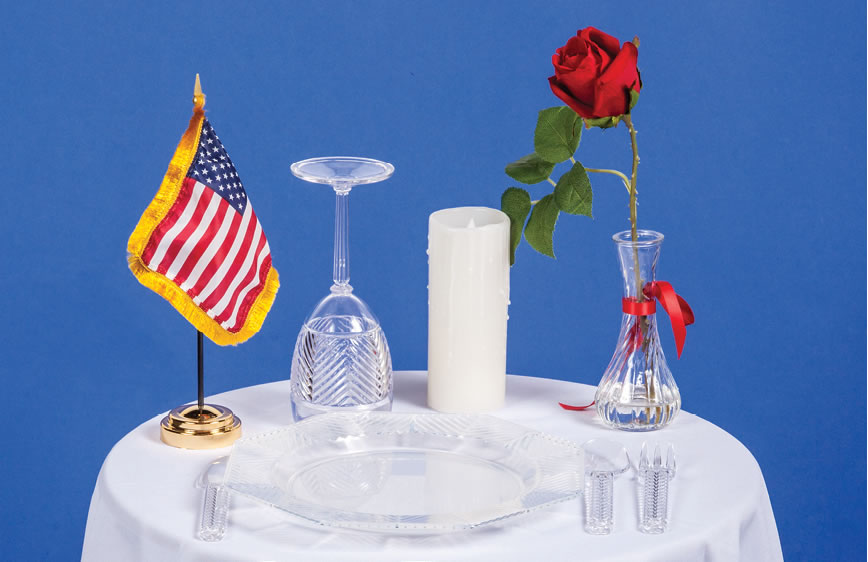 Pow Mia Ceremony Table Kit Americanlegionflags Com