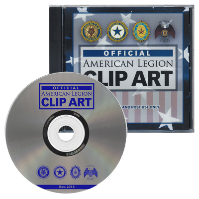 american legion letterhead template - clip art cd